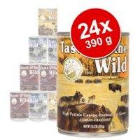 Pack Ahorro: Taste of the Wild 24 x 390 g - Pack mixto