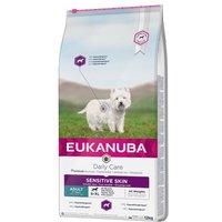 Eukanuba Daily Care Adult Sensitive Skin - 12 kg