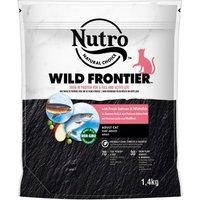 Nutro Wild Frontier Katze Adult Lachs und Weißfisch - 4 kg