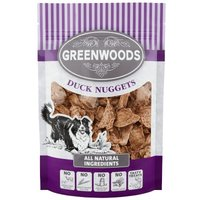 Sparpaket Greenwoods Nuggets 5 x 100 g - gemischtes Paket: 3 x Huhn / 2 x Ente