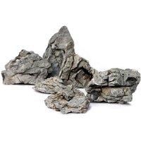 Mini-Landschaft - Seiryu Rock - 100 cm Set: 10 Natursteine, ca. 13 kg