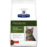 Hill's Prescription Diet Metabolic Weight Management Katzenfutter mit Huhn - Sparpaket: 2 x 8 kg