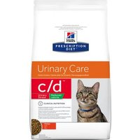 Hill's Prescription Diet c/d Urinary Stress Reduced Calorie Urinary Care Katzenfutter mit Huhn - 1,5 kg