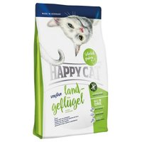 Happy Cat Sensitive Land-Geflügel - Sparpaket: 2 x 4 kg