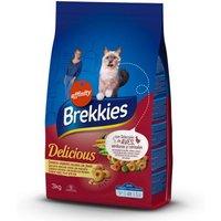 Brekkies Delicious Huhn, Truthahn & Gemüse - 3 kg