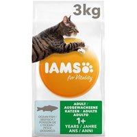 IAMS for Vitality Ausgewachsene Katzen mit Seefisch - 10 kg