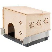 Kleintierhaus für Plaza Käfige - L 42 x B 60 x H 50 cm