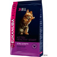 Eukanuba Healthy Start Kitten - Economy Pack: 2 x 4kg
