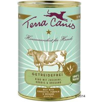 6x400 g lapin classic Terra Canis sans céréales pour chien