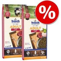 Pack Ahorro: Bosch 2 x 2,5 / 3 / 7,5 / 11,5 / 12,5 / 15 kg - Plus con avestruz y patata 2 x 12,5 kg