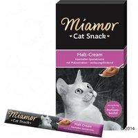 Miamor Cat Snack Pâte au malt pour chat - 6 x 15 g
