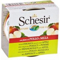 Schesir Fruit 6 x 75g - Tuna & Pineapple