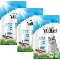 3x3 Natures Finest Yarrah Bio bâtonnets bio pour chat - Friandises pour chat