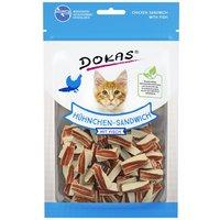 70g sandwich poulet Dokas Friandises à mâcher - Friandises pour chien et chat