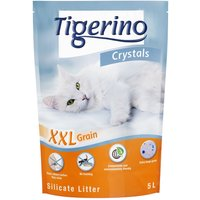 Tigerino Crystals Silicate XXL Cat Litter - Economy Pack: 3 x 5 litre