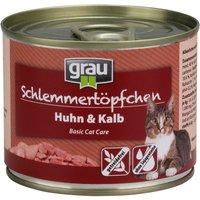 Grau Gourmet sin cereales 6 x 200 g - Carne de ave y pescado de mar