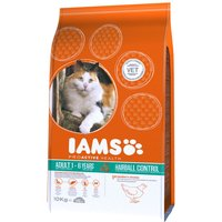 Iams Proactive Health Adult Hairball Chicken Dry Cat Food - Economy Pack: 2 x 10kg