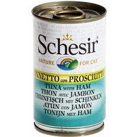 Schesir 6 x 140 g - Atún con sardinas en gelatina