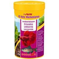 250mL Larves de moustiques rouges Sera FD - Aliment pour poisson