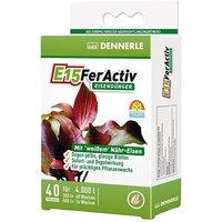 Dennerle E15 FerActiv Iron Fertiliser - 40 tablets