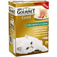 Gourmet Gold Cans Mixed Saver Pack 48 x 85g - Gravy Collection