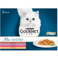 Gourmet Perle Pouches Mixed Pack - Saver Pack: 24 x 85g Delicate Meats Duo