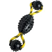 Hunter Spike Ball Rope dog toy - 30cm x 7cm Diameter