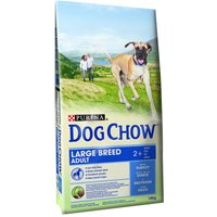 Purina Dog Chow Adult Large Breed, dinde - 14 kg