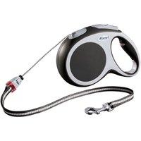flexi Vario Cord Lead Medium - 8m - Multi Box - Anthracite Grey