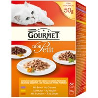 Gourmet Mon Petit - Saver Pack: 12 x 50g Poultry