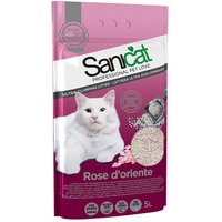 Sanicat Rose Doriente Clumping Litter - Economy Pack: 3 x 5l