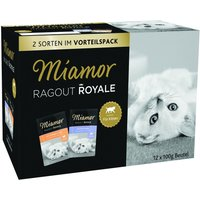 Miamor Ragout Royal Kitten in Jelly Mixed Pack 12 x 100g - Poultry and Beef in Jelly