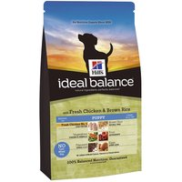 Hills Ideal Balance Puppy - Chicken & Brown Rice - 12kg