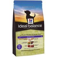 Hills Ideal Balance Canine Mature - Chicken & Brown Rice - 12kg
