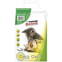 Super Benek Corn Cat Fresh Grass Clumping Litter - 7 litres (approx. 5kg)