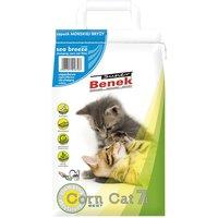Super Benek Corn Cat Sea Breeze Clumping Litter - 7 litres (approx. 5kg)