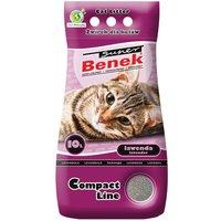Super Benek Compact Lavender Cat Litter - 10 litres