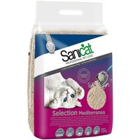 Sanicat Selection Mediterranea Clumping Litter - Economy Pack: 2 x 15l