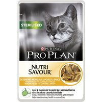 Pro Plan Nutrisavour Sterilised 10 x 85g - Chicken