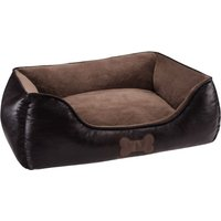 Artificial Leather Dog Bed - 90 x 65 x 30 cm (L x W x H)