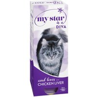 My Star is a Diva Wet Cat Food Chicken Livers - 10 x 90g