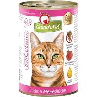GranataPet Cat DeliCatessen 6 x 400g - Veal & Rabbit