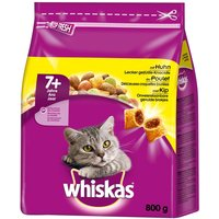 Whiskas Senior 7+ Chicken - Economy Pack: 2 x 800g
