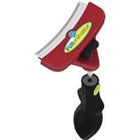 FURminator FURflex deShedding Head & Handle for Large Breeds - Reversible Mat Breaker Head