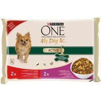 Purina ONE Dog Active - Saver Pack: 8 x 100g