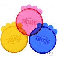 2x Couvercles Trixie pour boîtes de nourriture 10,5cm diam. - Boîtes de conservation pour chien