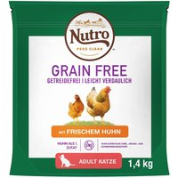 1.4kg Nutro Cat Grain-Free Dry Cat Food - Buy One Get One Free!* - Sterilised Chicken (2 x 1.4kg)