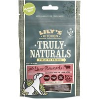 Lilys Kitchen Truly Naturals Little Liver Rewards Dog Treats - Saver Pack: 3 x 40g