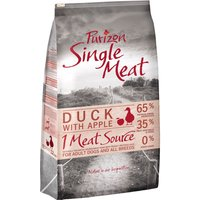 Purizon Single Meat Adult Dog Grain-Free Duck with Apple - 12kg