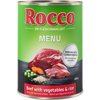 Rocco Menu 6 x 400 g - bœuf, légumes, riz